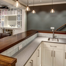 Craftsman Basement by Board and Vellum