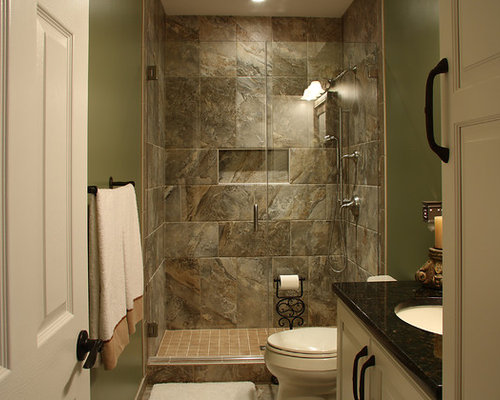 double walk in shower basement design ideas renovations photos