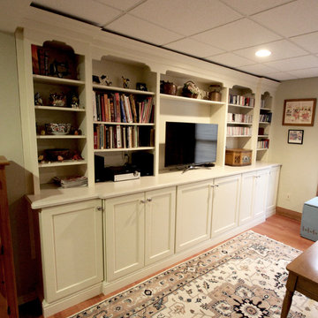 Basement Cabinetry for Storage