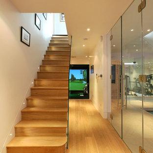 Basement - contemporary basement idea in London