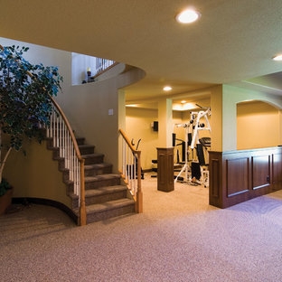 Basement Entry and Gym