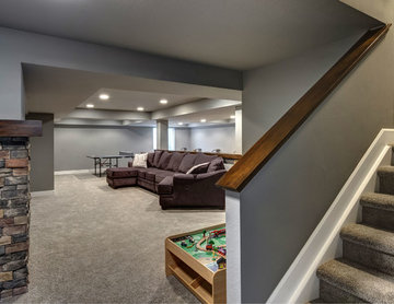 Basement Entry Stairs
