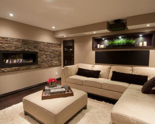 12 869 Contemporary Basement Design Ideas Amp Remodel