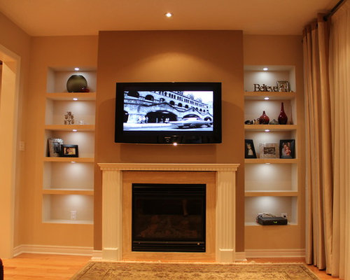Drywall Shelves Ideas, Pictures, Remodel and Decor