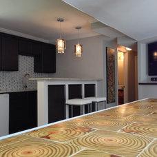 Modern Basement by Atlanta Curb Appeal