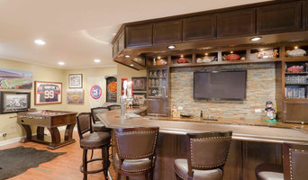 Basement fit for a sports fanatic