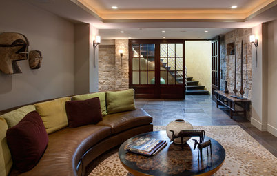 Basement of the Week: Warm Modernism in a Notable 1930s Home