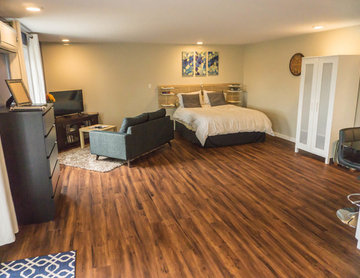 Basement Guest House Makeover