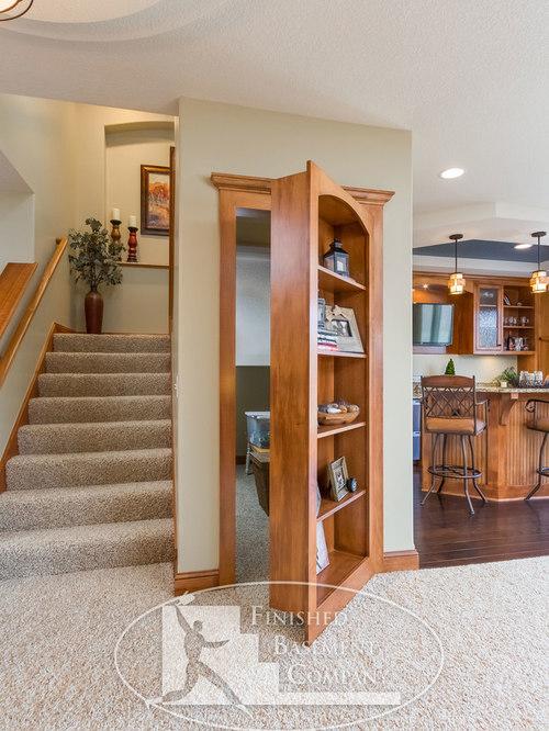 Traditional Minneapolis Basement Design Ideas, Pictures, Remodel & Decor