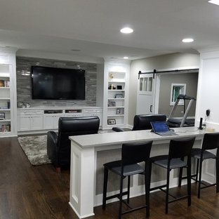 75 Most Popular Traditional Basement Design Ideas For 2019