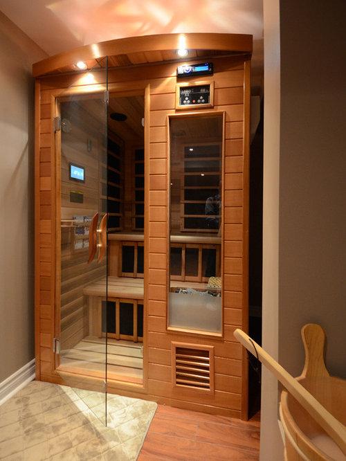 basement spa houzz. Black Bedroom Furniture Sets. Home Design Ideas