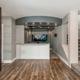 Basement Home Theater Entry
