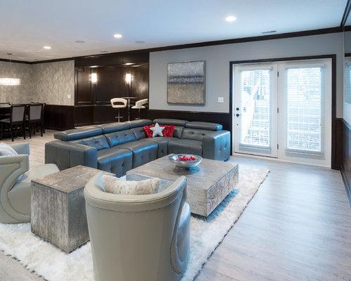 modern indianapolis basement design ideas pictures remodel decor. Black Bedroom Furniture Sets. Home Design Ideas
