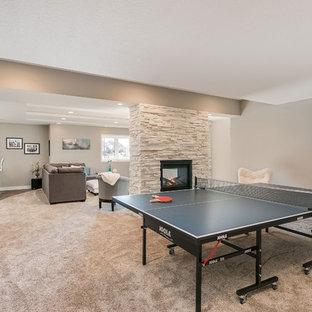 Basement Ping Pong Game Room