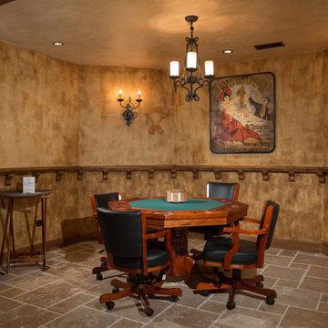 Basement Poker Room