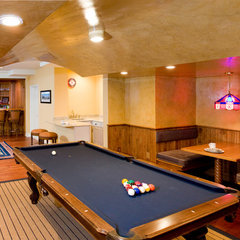 traditional basement by JMC Home Remodeling