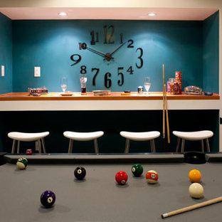 Teen Hangout Basement Ideas Photos Houzz