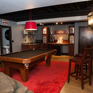 Basement Pub and Play Room