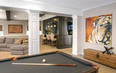 Basement of the Week: A Former Kids-Only Space Grows Up