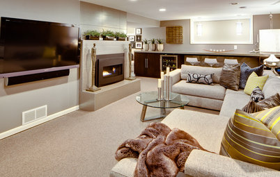 Basement of the Week: From Dumping Ground to Family Zone in Minnesota