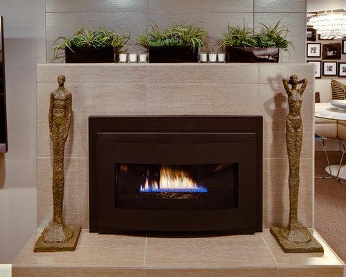 Fireplace Ceramic Tile Houzz