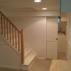 Traditional Basement by ENRGY Woodworks