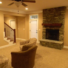 Transitional Basement by Ethics Construction Company, LLC
