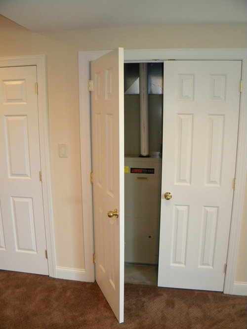 7 Basement Ideas On A Budget Chic Convenience For The Home: Hiding Furnace