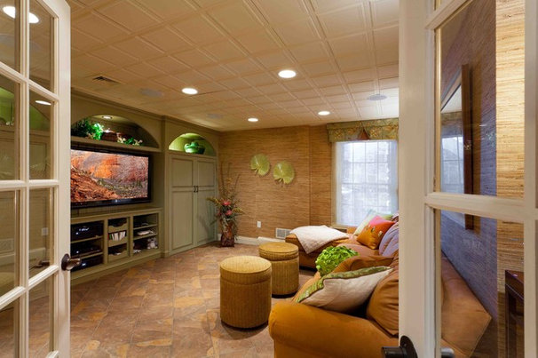 Tropical Basement by Custer Design Group