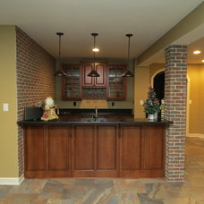 Traditional Basement by Kitchen Solvers of Frederick