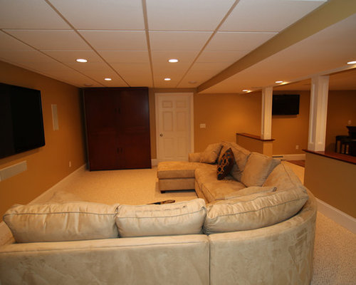 Basement remodeling project in northborough ma for Kitchen design 01532