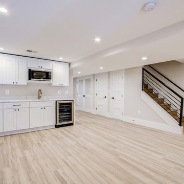 Basement Remodeling Project in Vienna