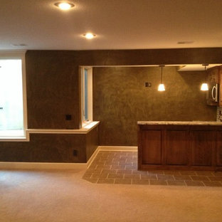 Example of a basement design in Kansas City