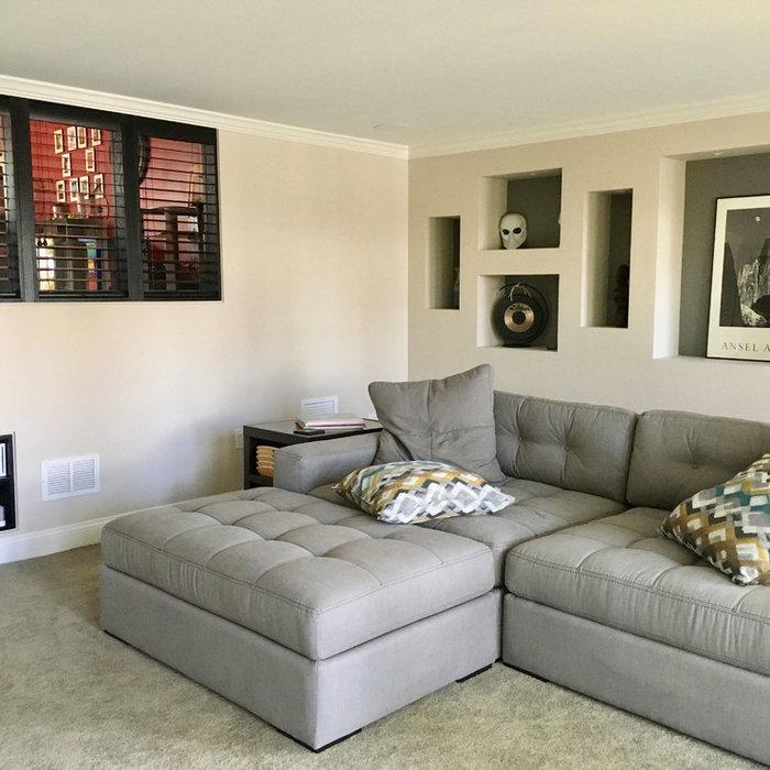 Basement Reno to Master Bedroom Suite