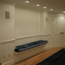 Traditional Basement by Donelan Contracting