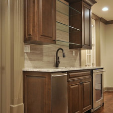 Traditional Basement by Cynthia Karegeannes, Registered Architect