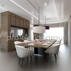 Contemporary Basement by Pro-design Studio