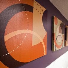 Contemporary Basement by Metro Interiors