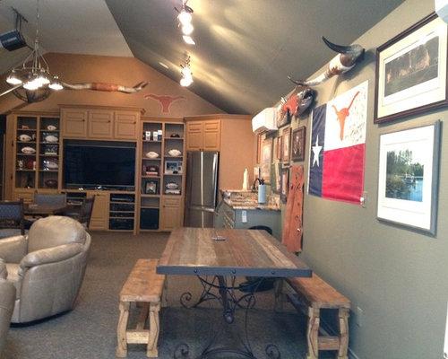 12 rustic austin basement design ideas remodel pictures houzz
