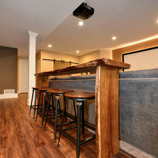 Basement Served up Family-Style