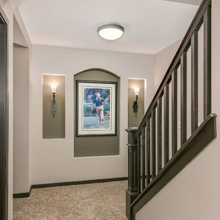 Basement Stairs and Hall