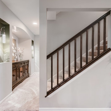 Basement Stairs Entry