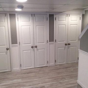 Basement Storage Ideas - Closets