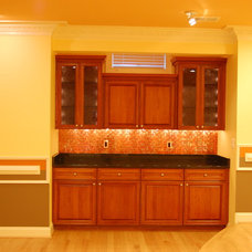 Traditional Basement by Solstice Kitchen and Bath