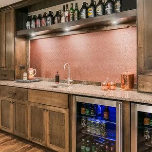 Basement Wet Bar Counter