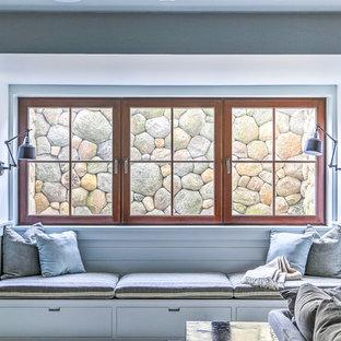 Basement window seat and egress window