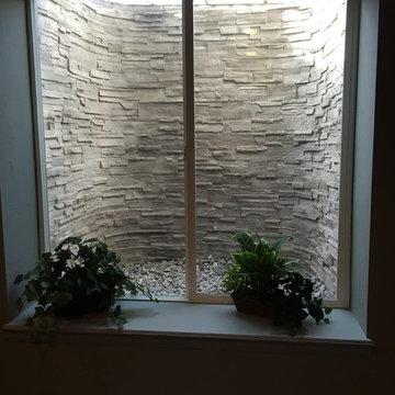 Basement window well