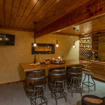 Basement Wine Cellar