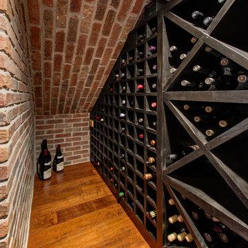 Basement Wine Cellar Wine Rack