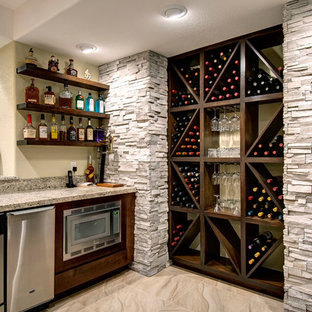 Basement Wine Storage